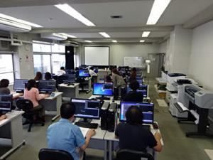 CAD実習風景