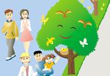 街路樹はまちに自然と四季をつくります