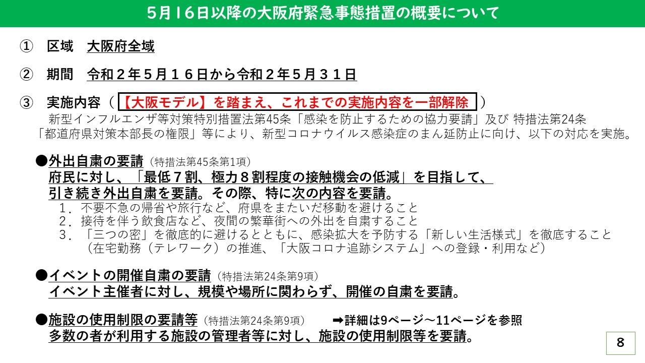 大阪 府 イベント 自粛