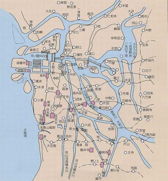 大阪府/[治水のあゆみ] 大阪 ... : 日本地図 形 : 日本